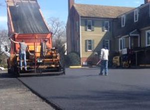 Resurfacing Town Home Parking Lot Charlotte NC Paving